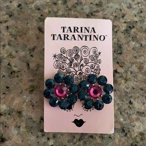 Large Crystal Tarina Tarantino Earrings